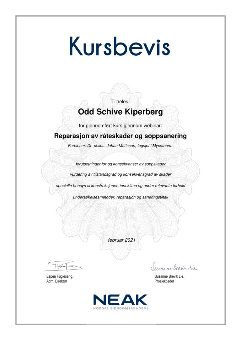 Kurs _Kursbevis_ Reparasjon av råteskader og soppsanering-1